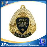 Kundenspezifische Metallandenken Sports Medaille mit Überzug