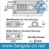 Kombinations-schiebende Schrauben-Verschluss der Sicherheits-Yh9150 des Stecker-4-Dial