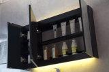 Amerikanischer Art-festes Holz-Marmor-Kostenzähler-hoher Badezimmer-Schrank (ACS1-W102)