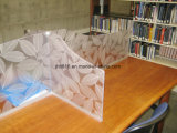 Folha de polímero de decoração