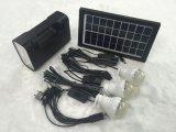 Accueil du système d'éclairage solaire avec fonction de lampe de poche