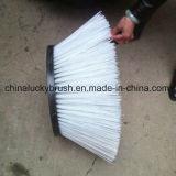 Cepillo material blanco de los PP para la máquina del barrendero de camino (YY-213)