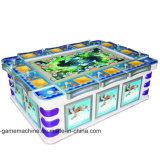 Macchina vuota a gettoni personalizzata del gioco di pesca della galleria