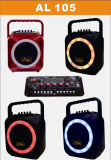 Tempo do partido o melhor altofalante ativo bem escolhido do trole do karaoke com tamanho pequeno de Bluetooth Amaz/Temeisheng/Kvg