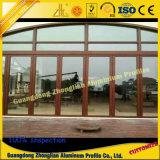 Профиль раздвижной двери поставкы фабрики алюминиевый