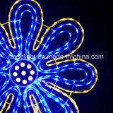 En el exterior LED personalizadas de flores de la luz de Navidad