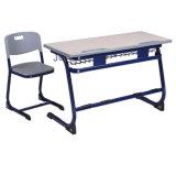Moderno e competitivo assentos duplos mobiliário para o estudante universitário