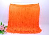 Оптовая торговля 20см больше цветов нейлон двойной поток челкой кружева для танцев платья