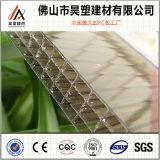 Van de Muur van het Blad van de Muur van het polycarbonaat Multi Four-Fold PC- Blad voor de Materialen van Buliding van het Dakwerk