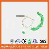 2X32 PLC Blockless van de Vezel van Sc-APC Optische Splitser