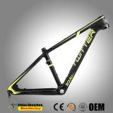 2018 Nouveau MTB 26er 27.5er Cadre de bicyclette Mountian Opitional carbone