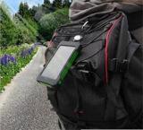 태양 에너지 은행 이중 USB 힘 은행 20000mAh는 LED 빛을%s 가진 Powerbank Bateria 외부 휴대용 태양 전지판을 방수 처리한다