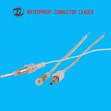 Raccord rapide mâle femelle du connecteur 2 broches électriques DC