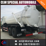 Carro del tanque séptico de la succión de las aguas residuales de JAC 3m3 12m3 16m3
