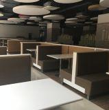 Lado Sinlge o doble Restaurante Tapizado Sofá stand