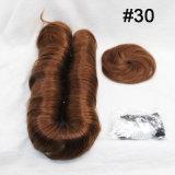 I capelli brasiliani 27 parti mettono il tessuto in cortocircuito con chiusura libera