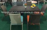 Venta caliente de mimbre Rattan Conjunto de silla de mesa de comedor Muebles de exterior