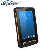 Tablette androïde PDA de scanner de code barres de code de l'industrie 1d 2D Qr d'étalage de contact de grand écran