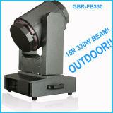 A iluminação IP65 440W do estágio de Gbr Waterproof luz principal movente do feixe de 15r 17r