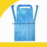 Средства индивидуальной защиты одежды халат из полимера одноразовой пластиковой PE фартук