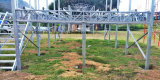 Stahlkonstruktion-Fertighaus mit unterem Stahlrahmen für wasserdichtes