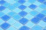 Foshan-Swimmingpool-kleine blaue Glasmosaik-Fliesen für Badezimmer
