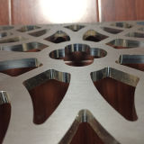 Atcの建築型の企業CNC機械を広告する木工業