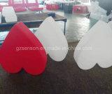 Star/l'amour de la résine de plastique de la forme de lumière/decorations/fabricant de lumière LED personnalisé