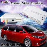 Android 6.0 Navegación de la interfaz de vídeo para la Toyota Sienna Mirrorlink 2014-2017
