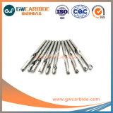 Type HRC45 2*6*4*L50*3T* longueur 50-150mm forets de torsion