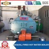Horizontal das 3 Durchlauf-Öl-gasbeheiztwarmwasserspeicher zurück naßmachen