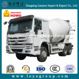 Caminhão pesado do caminhão do misturador concreto de Sinotruk HOWO 6*4 10cubic