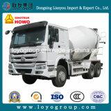 Sinotruk HOWO 6*4 10cubicの具体的なミキサーのトラックの大型トラック