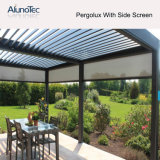 Azotea de aluminio moderna de las lumbreras de la cortina de Sun del diseño de la casa