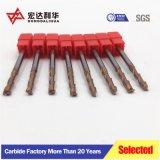 Stevige Molen Drie van de Groef van de Hoge snelheid van het Carbide Molens