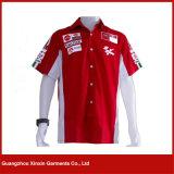 Рубашка изготовленный на заказ печатание Pyrography автоматическая участвуя в гонке (S04)