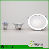 MAZORCA LED Downlight de Dimmable 5W 7W 9W del proyector del LED con el recorte 85m m