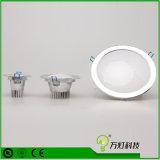 Diodo emissor de luz Downlight da ESPIGA de Dimmable 5W 7W 9W do projector do diodo emissor de luz com entalhe 85mm