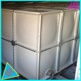 Panneaux en PRF assemblés réservoir d'eau élevée avec tour de stockage de l'eau potable de l'île