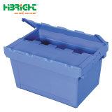 Caixa de Logística Nestable empilháveis Crate para comida de armazém