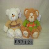 Urso enchido bonito da peluche St2002 com diodo emissor de luz