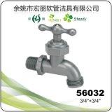 De la llave-T roja sanitaria de 61023 grifo plástico del PVC mercancías