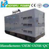 Shangchai Sdec 엔진을%s 가진 비상 전원 450kw/562.5kVA 침묵하는 전기 디젤 엔진 발전기