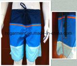Shorts da natação do homem, da tira do poliéster desgaste seco da praia rapidamente