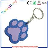 선물을%s 주문 PVC 고무 열쇠 고리 연약한 PVC Keychain