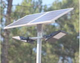 Alto indicatore luminoso di inondazione solare di lumen LED 5W con la batteria di litio LiFePO4