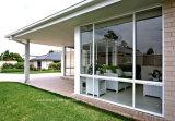 Ventanas corredizas de aluminio arquitectónico con los estándares americanos