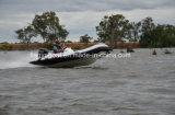 Stof van pvc van de Boot van de Leiding van Liya 14FT de Stijve Hydraulische