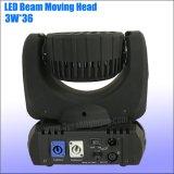 36*3W RGBW LEDs DMX LEIDENE Straal 36 Bewegend HoofdLicht