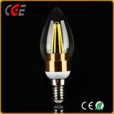 D'éclairage LED 2W/4W C35/E27 Gold/Silver Filament Ampoule LED Lampes LED du meilleur prix